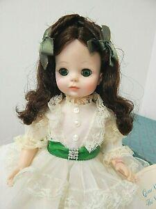 "Mad. Alex. Vintage 1974-86 Scarlett O'Hara 14"" Vinyl Doll in White Dress w/Box"