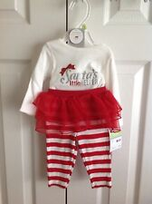 Infant 3 Months Santa's Helper Holiday One Piece NWT