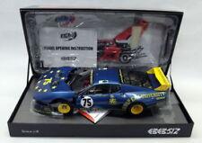 Modellini statici di auto da corsa blu BBR