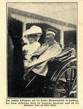 1907 HORNER PFERDERENNBAHN * Besuch des Kaiserpaars in Hamburg