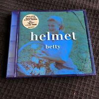 HELMET limited blue cd BETTY 1994 Page Hamilton Metal noise used + 5 bonus track