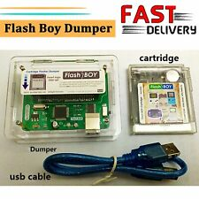 Flash Boy Dumper Burner Cartridge 16Mbit 64Kb for Nintendo GB/GBC Game Boy Color