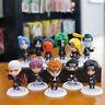 Naruto Kakashi Sasuke could set of 11pcs anime figure PVC figure doll dolls new