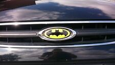 FORD Badge Batman Car Sticker Front Rear Swheel Vinyl Overlay Focus Fiesta Zetec