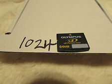 Vintage olympus  XD Picture Card 64MB Memory Card for Fuji Olympus & Others