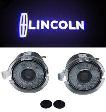 2x Side Mirror Laser LED courtesy Shadow Light For LINCOLN NAVIGATOR 2007-2013