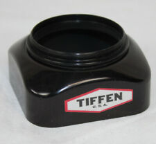 Vintage Tiffen Lens Hood Cap Square Screw On Style Camera Lens Photography