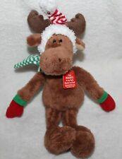 "Gund Magnatudes 8"" Magnetic Holiday Christmas Reindeer Plush NWT"