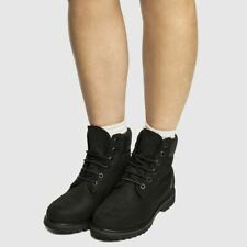 Timberland All Over Black Boots SZ 39