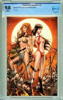 Vampirella / Red Sonja #2 Comics Elite Virgin Exclusive - CBCS 9.8!