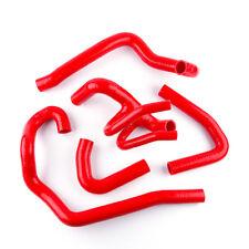 Citroen Saxo Peugeot 106 GTI 16V VTS Red Silicone Coolant Radiator Hose Tube Kit