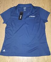 Adidas Golf Men's Climalite Polo Shirt Size XL Navy Blue New NWT