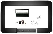 Kit cadre de montage + Adaptateur pour Opel Corsa Omega Vectra RADIOBLENDE Noir