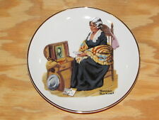 Norman Rockwell 1984 Porcelain 6 inch Collector's Plate in box Memories