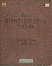 The Quintessential Druid, D&D 3.0 / d20 system, Mongoose Publications, VGC