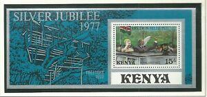 Kenya - QEII Silver Jubilee 1952-1977 Mint NH Miniature Sheet