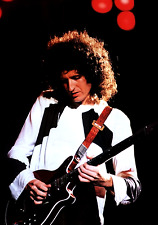 BRIAN MAY QUEEN POSTER 2 - A3 SIZE 297x420mm - FAST SHIPPING FROM UK