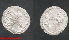 Romaine ! rare antoninien de  Postumus revers Fortuna Aug