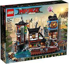 The LEGO Ninjago Movie 70657 NINJAGO City Docks - Complete - Pre-Owned