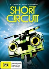 """Short Circuit DVD BRAND NEW SEALED """"NO. 5 IS ALIVE!"""" R4"""