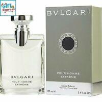 Bvlgari Extreme Pour Homme Cologne Men 3.4 oz /100 ml Eau De Toilette Spray