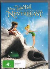 TINKER BELL AND THE LEGEND OF THE NEVERBEAST - DISNEY-NEW R4 DVD FREE LOCAL POST