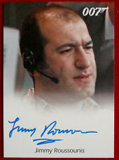 JAMES BOND - The World Is Not Enough - JIMMY ROUSSOUNIS - Autograph Card