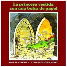 La Princesa Vestida con una Bolsa de Papel-ExLibrary