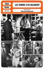FICHE CINEMA : LES FEMMES S'EN BALANCENT - Constantine 1954 Dames Don't Care