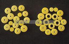 2 set Flute Pads:Open hole Flute pads 17 open and 16 close part
