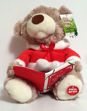 "Story Telling Christmas Bear "" Twas The Night Before Christmas """