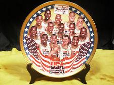 Dream Team Ii 1994 Basketball Gold Ltd Ed Signature Plate Sport Impression