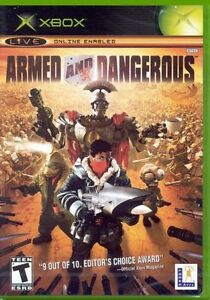 Armed And dangerous de ACTIVISION Plate-forme: Xbox Classé: 16 ans et plus -NEUF