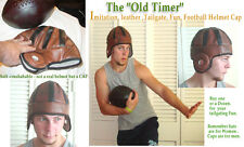 Old Timer Macho fake Leather Football helmet tailgating