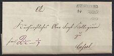#S235# Vorphilabrief mit Rodenberg Zweizeiler Stempel BODENBERG 14.3.1847