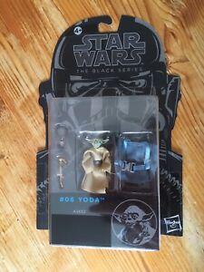 "Star Wars The Black Series Yoda 3.75"" 2014 HASBRO"