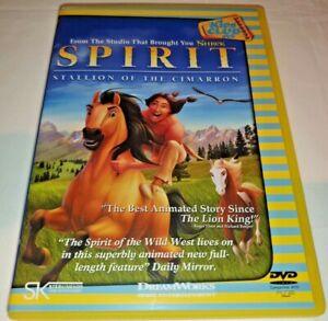 Spirit Stallion Of The Cimarron DVD Region Code 2