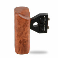 CAMVATE Wood Wooden Handle Grip Mount Support For DV Video Cage Rig DSLR Cameras