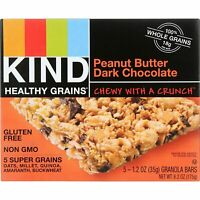 Kind Bar Granola Healthy 100% Whole Grains Peanut Butter Dark Chocolate - 6.2 oz