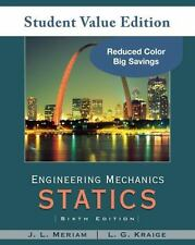 Engineering Mechanics Vol. 1 and 2, Set : Statics and Dynamics by L. G. Kraige a