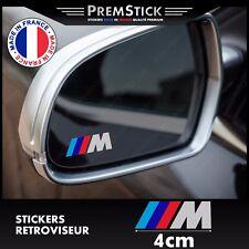 Kit 3 Stickers Retroviseur Voiture BMW M - Autocollant auto, retro ref3