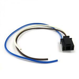 """3 Prong Headlight Plug Socket with 12"""" Leads Street  AUTHLPLUG muscle custom"""