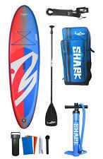 SHARK SUP 10′6 / 32'' / 5'' Lemon Shark Ride - Stand Up Paddle Board Komplettset
