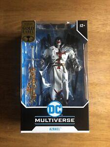 McFarlane Toys DC Multiverse Azrael Suit of Sorrows Gold Label Action Figure!
