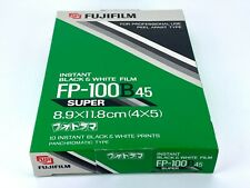 【NEW】 FUJIFILM FP-100B 45 4x5 Instant B&W Film EXP10/2001 Ship by DHL From JAPAN