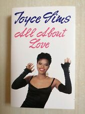 JOYCE SIMS~ALL ABOUT LOVE ON CASSETTE TAPE 1989