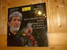 SEALED Bach Cello Suites # 3 & 4 FILIPPINI FONE 180g LP 067 Ltd.Ed. 496 Copies