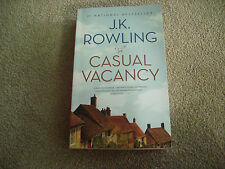 The Casual Vacancy by J.K. Rowling Paperback Oversized