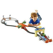 Fisher-Price Thomas The Train Track Master Thomas & Percys Railway Race Set Toy