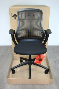 Next Day UK Delivery | Knoll ReGeneration Chairs | Black | Unused New in the Box